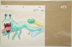 Ghostbusters Original Production Drawing And Cel 73-56 Used Cond.