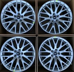New 19andrdquo Silver Ford Mustang Gt 5.0 Performance Pack Rims / Wheels Factory Oem