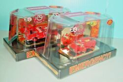 Code 3 'emergency' Set - Squad 51 And Crown Engine 51 - Mint In Domes