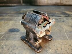 Antique Bipolar Dc Miniature Toy Motor Unmarked About 3 3/8 High - Nice Example