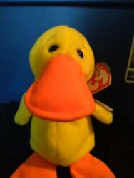 Ty Beanie Babys - Quackers The Duck 6 Plush Toy 4024