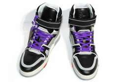 Pre-owned Authentic Louis Vuitton Menand039s Sneakers Leather 6 Purple / Black 25cm