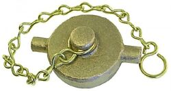 Ccg64 Cam And Groove Accessory - Gunmetal Cap And Chain Bspp Female Thread 4