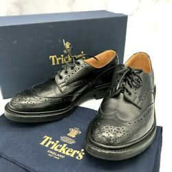 Trikers Dress Shoes Wing Tip Country Derby Brogue 5633110 Medallion Razor Mens