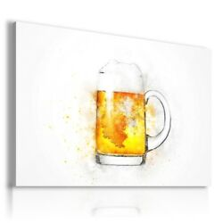 Painting Drawing Beers Alcohol Print Canvas Wall Art Picture R45 Mataga