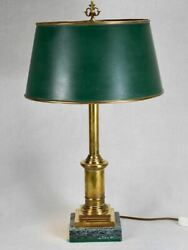 Superb Vintage French Lamp With Original Shade 26¾