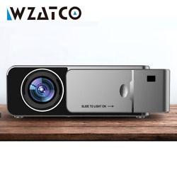Hd Led Projector 3000lumen Android 10 Portable Hd Usb 4k Home Theater Projector