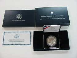 Smithsonian National Museum Of The American India Ammerican Buffalo Proof Silver