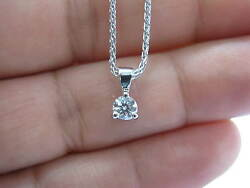 Hearts On Fire Rond Diamant Solitaire 3-prong Collier .33ct H-vs2 45.7cm