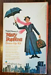 Mary Poppins Colorforms Dress-up Kit Paper Doll W Clothes 1964 Complete