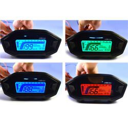 Motorbike Multifunctional Rpm Instrument With Colour Backlight 150mm
