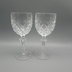 Waterford Crystal Powerscourt Water Goblets - Set Of Two