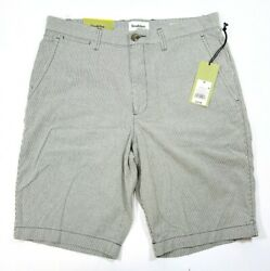 Goodfellow And Co Menand039s Linden Shorts Gray Micro Stripe 10.5 Inch Inseam 30 Or 32