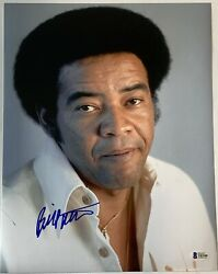 Bill Withers Signed Photo 11x14 Large Autographed With Beckett Coa