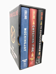 Hunger Games Trilogy Book Set Mockingjay Catching Fire Lot Of 3 Collins