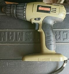 Craftsman 18 Volt Cordless Drill Battery Is Not Included Tool Only
