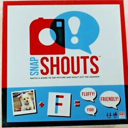 Mattel Snap Shouts Family Card Game