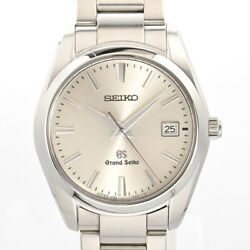 Seiko Item Grand Menand039s Watches Sbgx063 Silver Mens Previously Owned No.5963