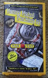 New Heavy Metal Parking Lot Vhs Lunchmeat Limited Edition Talk Box Only 20 Made