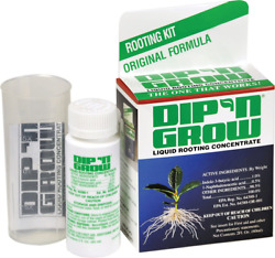 Dip N Grow Dg00201 Liquid Hormone Concentrate Hydroponic Rooting Solution, 2-oun