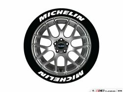 Tire Stickers - Michelin Tire Lettering Kit - White - 8 Of Each - Mic192118