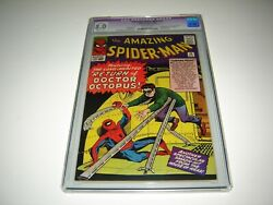 Amazing Spider-man 11 Cgc 8.0 Slight Color Touch 1964 Silver Age Marvel Key