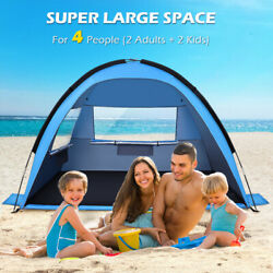 Pop Up Beach Tent Portable Sun Shade Shelter Outdoor Camping Fishing Canopy Usa