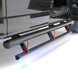 Aries 3047960 Actiontrac Powered Running Boards Fits 04-21 Titan Titan Xd