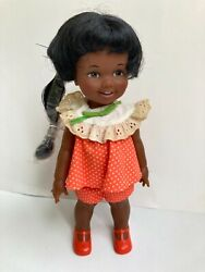 Vintage Ideal African American Cinnamon Doll Growing Hair 12 Crissy Family