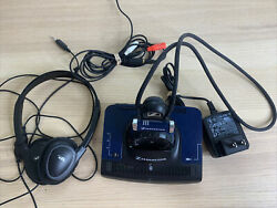 Sennheiser Tr840 And Ezt 3011 Headphones And Charger Base. Excellent Condition