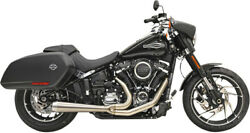 Bassani Xhaust Stainless Road Rage Exhaust For Harley Davidson Flsb 18-20 1s81ss