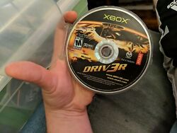 Driv3r Microsoft Xbox, 2004 Driver 3 Disc Only, Rare Out Of Print