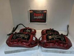 Cts-v Brembo Brake Calipers And Rotors Red 16 17 18