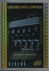 2018 Upper Deck Aliens Movie Locked and Loaded Silver Lewis Gun #ABA 10 p1l $1.16