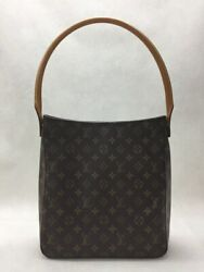 Louis Vuitton Looping Gm Ballpoint Pen Small Bag Previously Owned No.6753