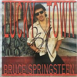 Bruce Springsteen Signed Lucky Town Vinyl Lp Record Autograph Rare