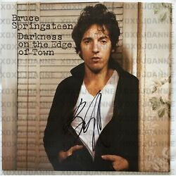 Bruce Sprinsteen Signed Darkness On The Edge Of Town Vinyl Lp Record Rare