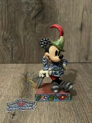 Disney Traditions Showcase Collection Mickey Mouse Sew Brave 4016553 Figurine