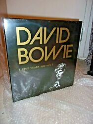 David Bowie - Five Years Rare Out-of-print 13-vinyl Lp Box Set New And Sealed