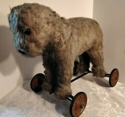 Early 1900s Antique Steiff Stuffed Pull Toy - Read Condition