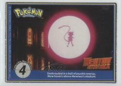 1999 Pokemon The First Movie - Collectible Scene Magazine Cards 4 04fg