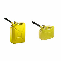 Wavian 5.3 Gallon Jerry Can Bundle With 2.6 Gallon Steel Jerry Can