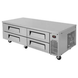 Turbo Air - Tcbe-72sdr-n - 4-drawer 72 In Stainless Steel Chef Base