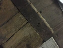 Massive Over 9and039 Foot Rare Wwii Liberty Ship Old Hatch Cover Shipwreck Beach Find