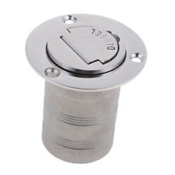 Boat Deck Fill Filler Keyless Cap 2and039and039 Diesel Flush Mount