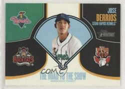 2013 Topps Heritage Minor League Edition The Road To Show Jose Berrios Rtts-jb