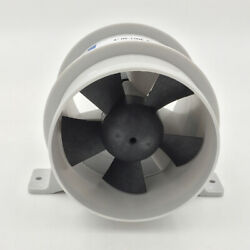 Abs High Air Flow In-line Blower Marine Quiet Bilge Blower 4and039and039 Diameter