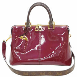Louis Vuitton Bag M54640 2way Patent Enamel Tote Previously Owned No.6944