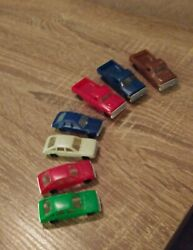 7 Vintage Hot Wheels Type Racing Cars From Cereal Boxes