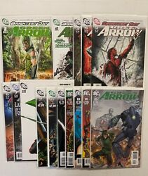 Dc Comics Green Arrow Brightest Day 1 2 3 4 5 6 7 8 9 10-15 Nm Bagged Boarded